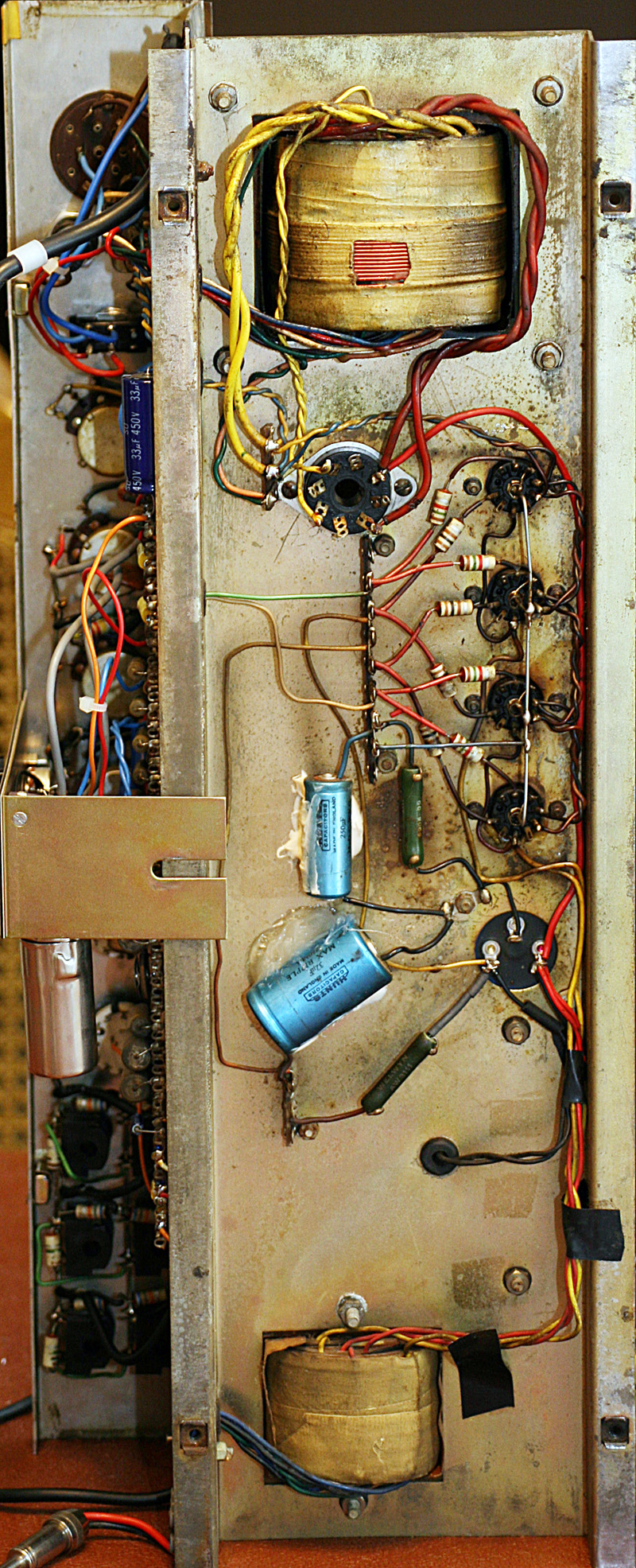 [SCHEMATICS_4US]  Mike Ryde - Brian May   Vox Ac30 Wiring      Mike Ryde - Brian May